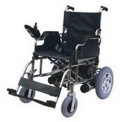 Инвалидная коляска с электроприводом.