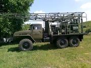 Буровая установка УКБ-500 на базе Урала 4320