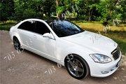 Аренда авто Mercedes S на свадьбу в Одессе