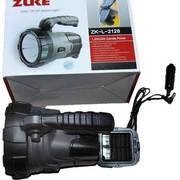 Фонарь аккумуляторный поисковый ZUKE ZK-L-2128 с солнечной батареей.