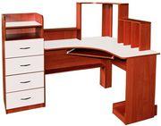 Стол угловой компьютерный,  СКУ-09,  РТВ,  для дома и офисов.