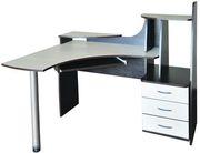Стол угловой компьютерный,  СКУ-12,  РТВ,  для дома и офисов.