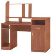 Стол компьютерный с надстройкой Комфорт-2 (Компанит)