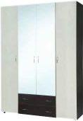 Шкаф. Шкаф-7 (компанит) Шкаф из трех отделений. Центральная часть - пл