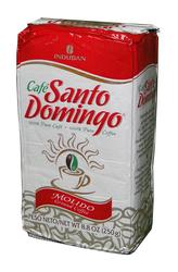 Доминиканский молотый кофе Santo Domingo (Санто Доминго) в вакуумной упаковке,  250 г