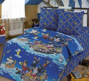 Детская постель недорого,  Комплект Пираты