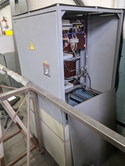Установка электролитно-плазменной полировки,  рабочее состояние