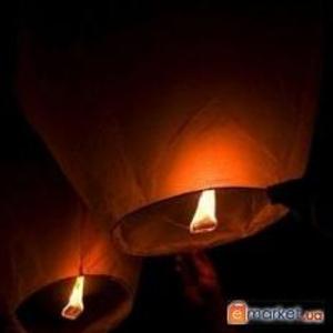 Небесные фонарики (шары желаний, китайские фонарики) в Одессе