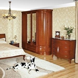 Спальный гарнитур из натурального дерева Монблан