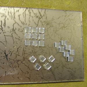Зеркальная и стеклянная мозаика по индивидуальным размерам,  бевелс,  Одесса