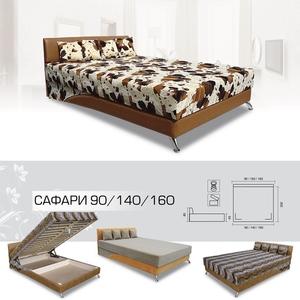 Кровать Сафари 90 / 140 / 160 (Вика)