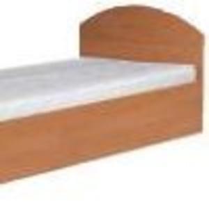Кровать-90(компанит) Односпальная кровать из ДСП.