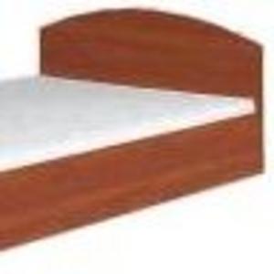 Кровать-140(компанит) Небольшая двуспальная кровать из ДСП.