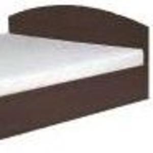 Кровать-160(компанит) Двуспальная кровать из ДСП.
