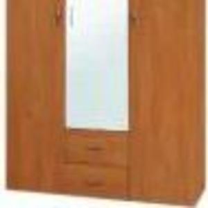 Шкаф. Шкаф-6 (компанит) Шкаф из трех отделений. Центральная часть - по