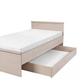 Детская кровать односпальная из светлого дуба БРВ Нумлок
