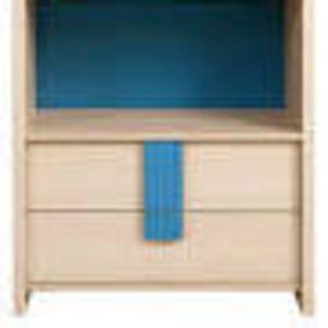 Шкаф-пенал для книг в комнату школьника БРВ Капс