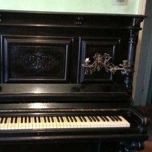 Продам антикварное фортепиано марки C.M.Schroder
